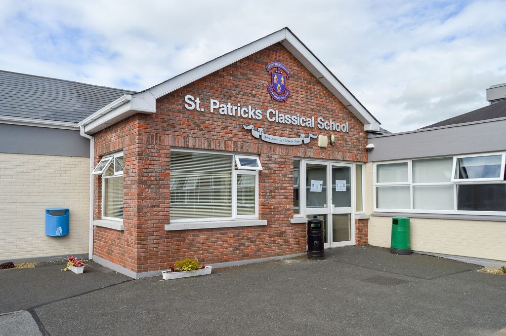 St. Patricks Classical School Cover